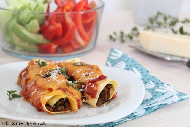 cannelloni-oksekoed-spinat, italiensk-mad, italiensk-opskrift, pastaretter, boernevenlig-aftensmad, cannelloni
