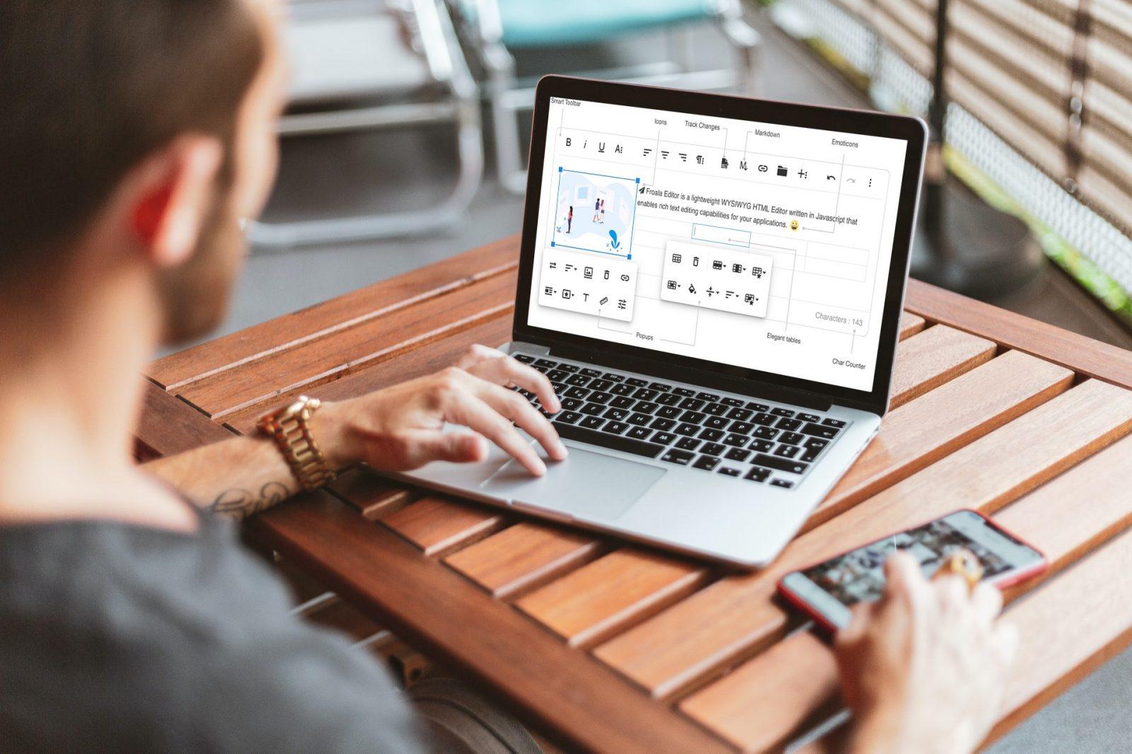 Easily Integrate the Powerful WYSIWYG Froala HTML Editor into WordPress