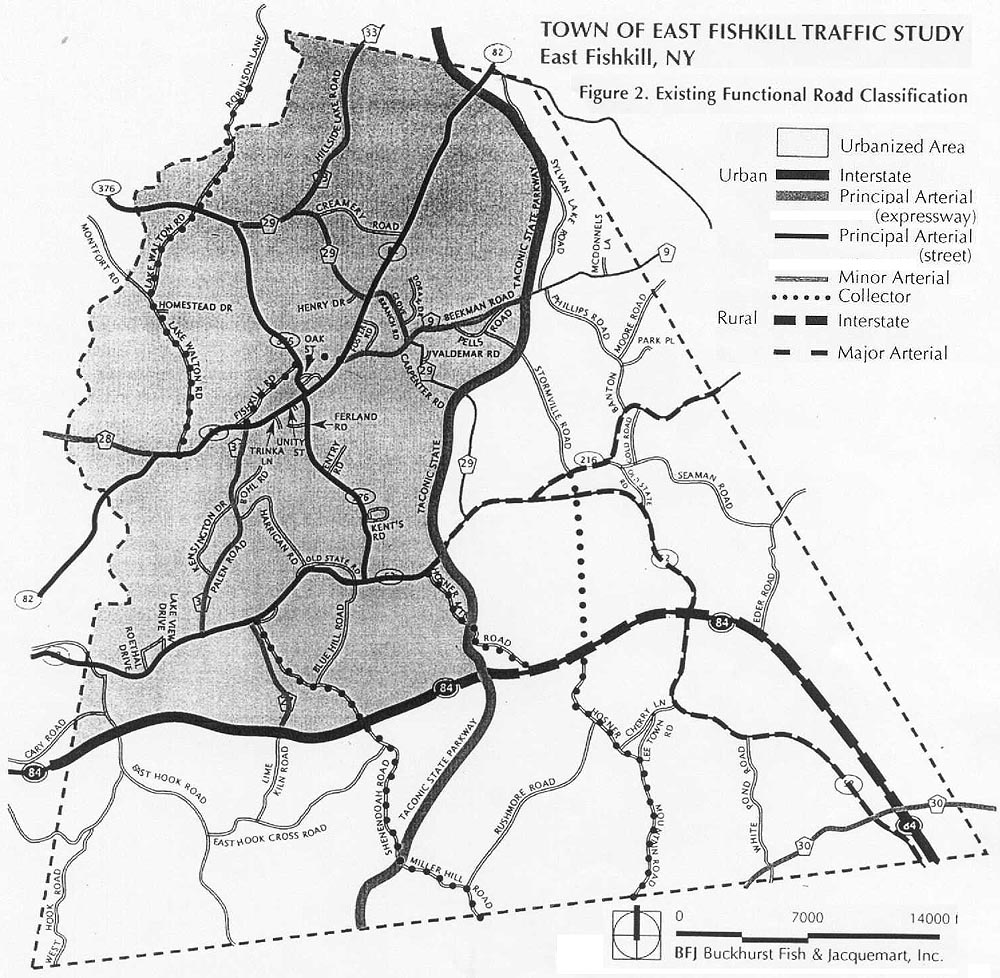 Existing functional road classification see the image described above