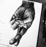 Crossed Fingers sketch