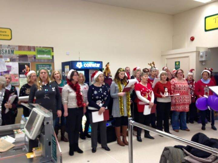Merry reasons to shop at Morrisons Frodsham…..