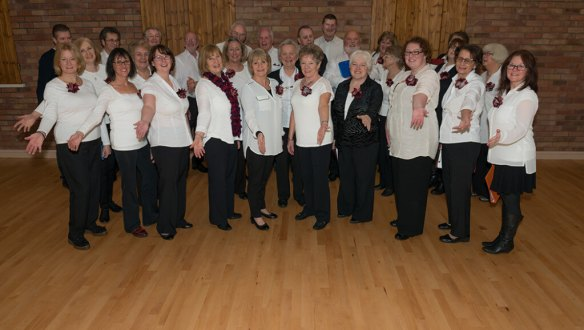 Some of us at a performance last week for Kingsley WI (thx Phil for the photo)