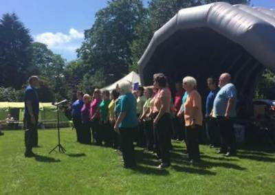 A Sunny Day for a Sing in the Park!