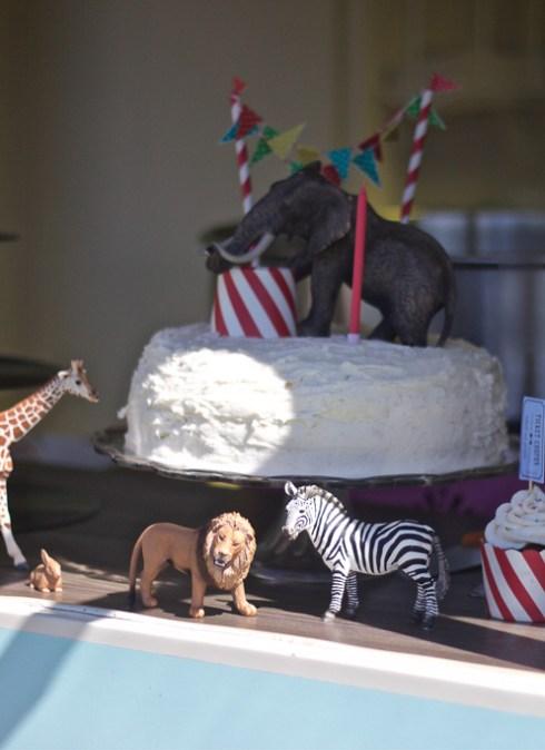 1 års fødselsdag med cirkustema