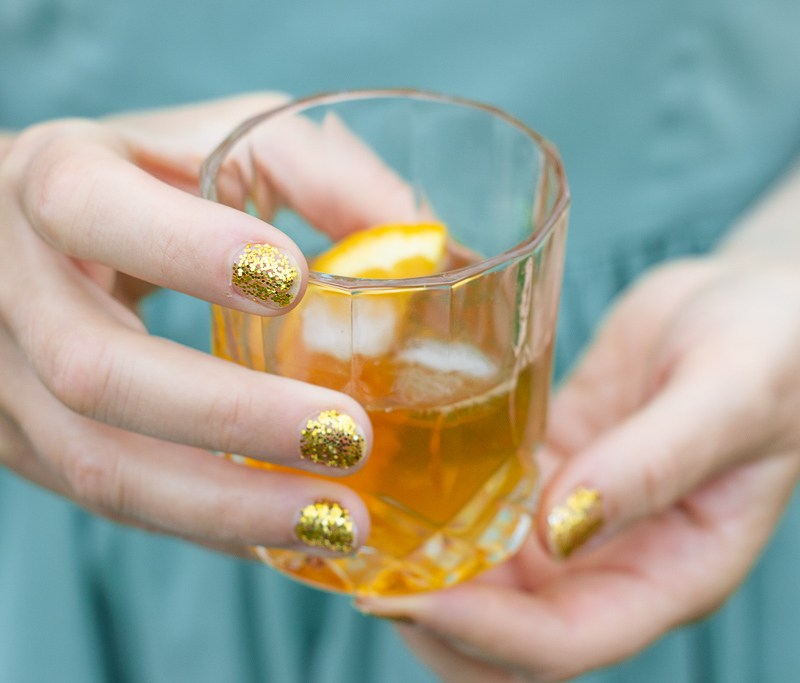 Old fashioned drink opskrift
