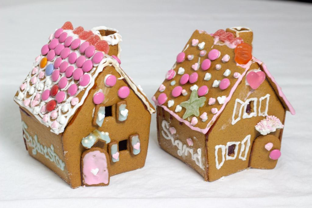 Sigrid og Sylvesters kagehuse