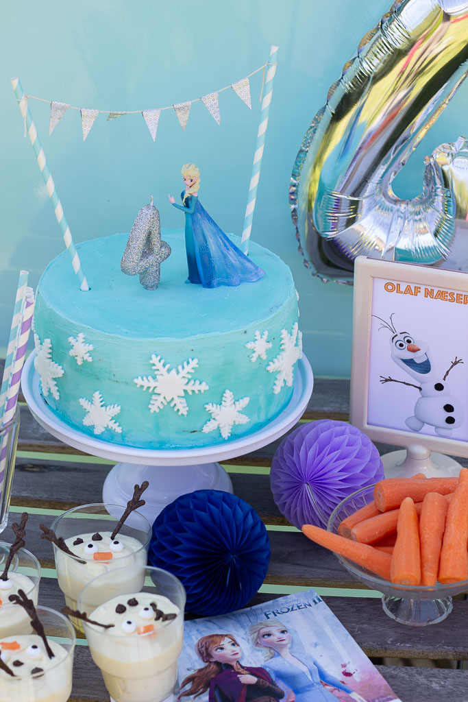 Opskrifter og ideer til Frost fødselsdag
