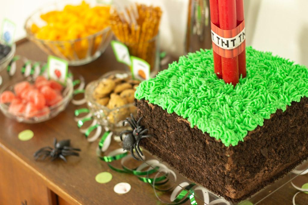 Minecraft fødselsdagstema ideer