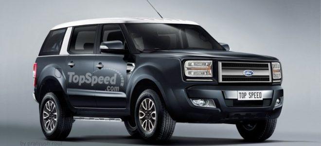 Ford Bronco Interior 2018