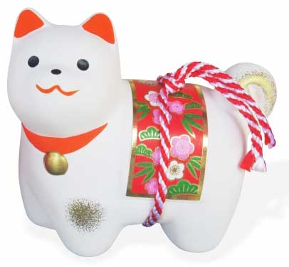 Dog's ornament, 犬の置物
