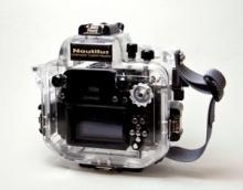 Nautilus Nikon GF2用ハウジング(背面)