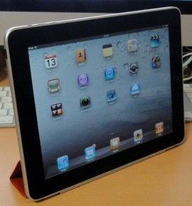 iPad on Smart Cover