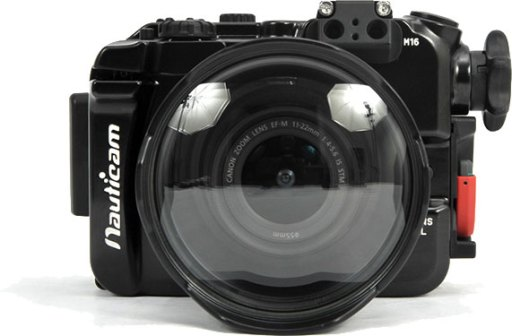 Canon EOS M3用水中ハウジング