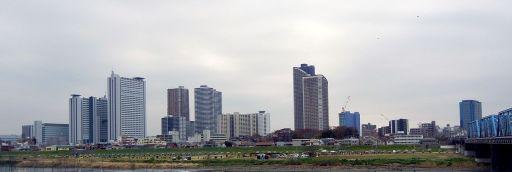 武蔵小杉のビル群。Wikipediaより