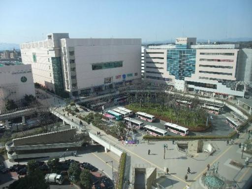 新百合ヶ丘の俯瞰写真