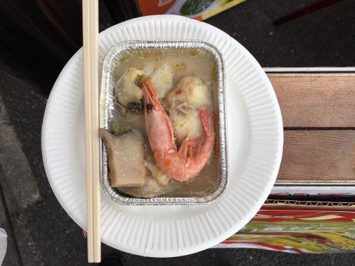 糸魚川フェアのアヒージョ