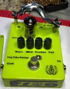 Prototype #4 Pre production Prototype - Frog Tube Preamp