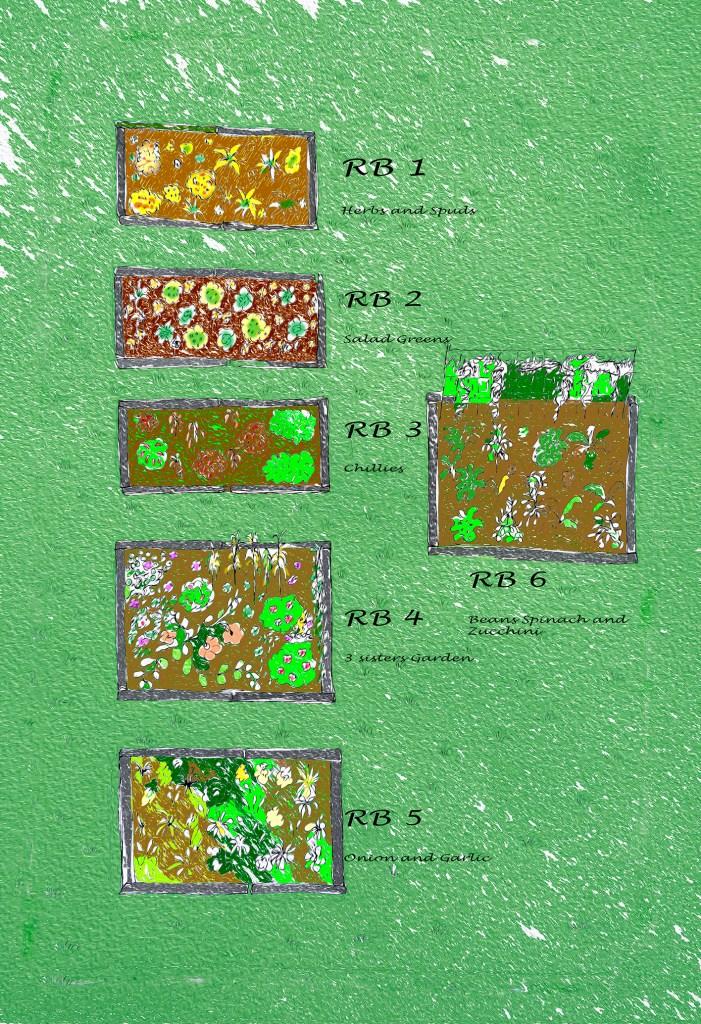 Summer planting plan