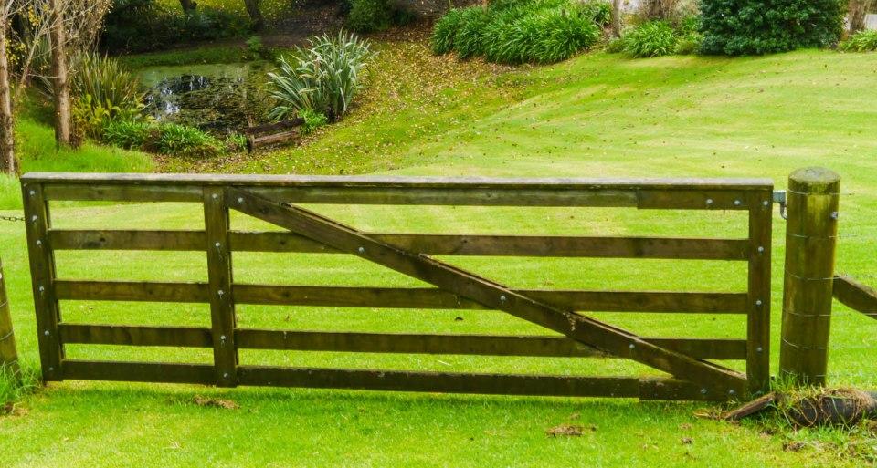 farm garden gate