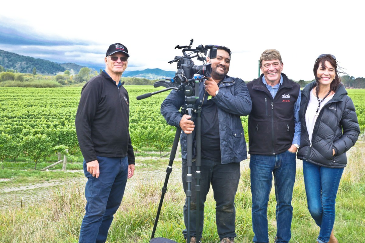 TV shoot at Loddon Lane