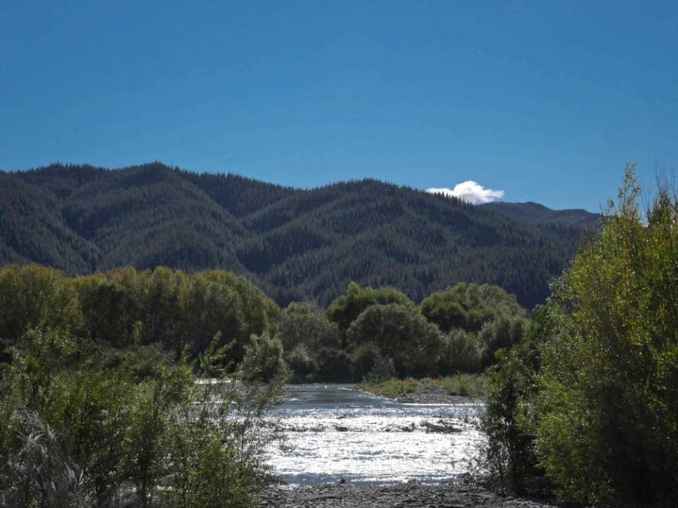 Wairau river Marlborough