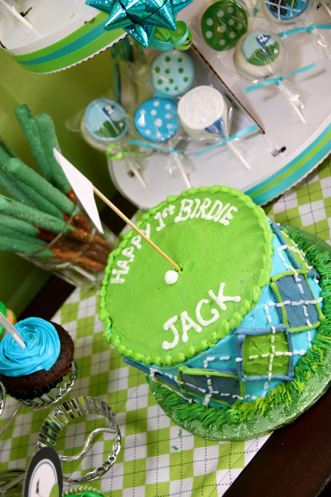 Real Parties Golf Birthday Party X 2