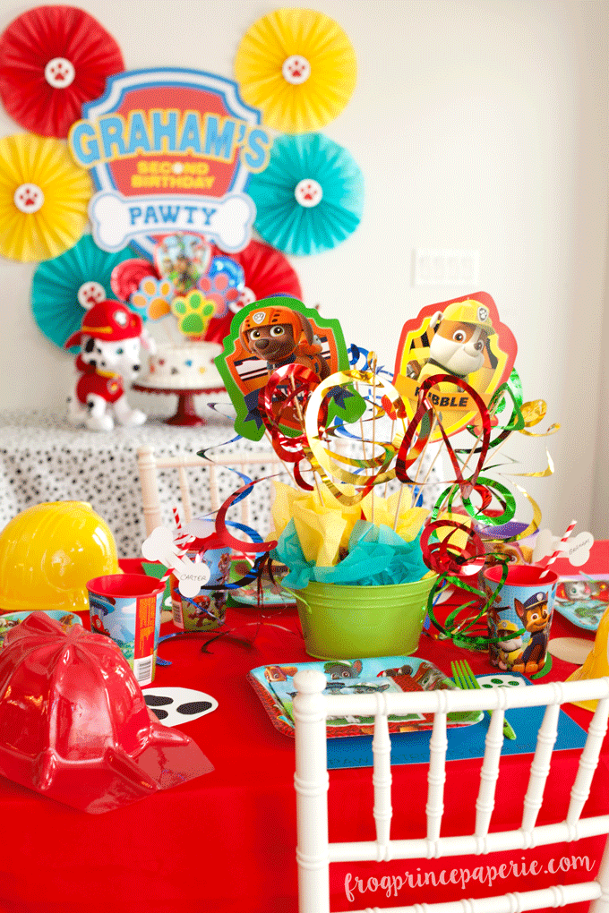 Paw Patrol Party Easy Puppy Party Ideas Frog Prince