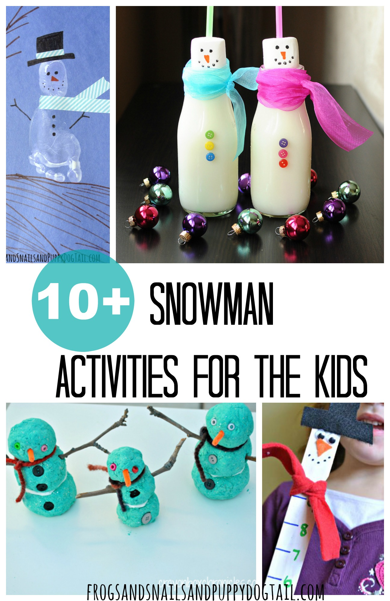 10 Snowman Activities For The Kids