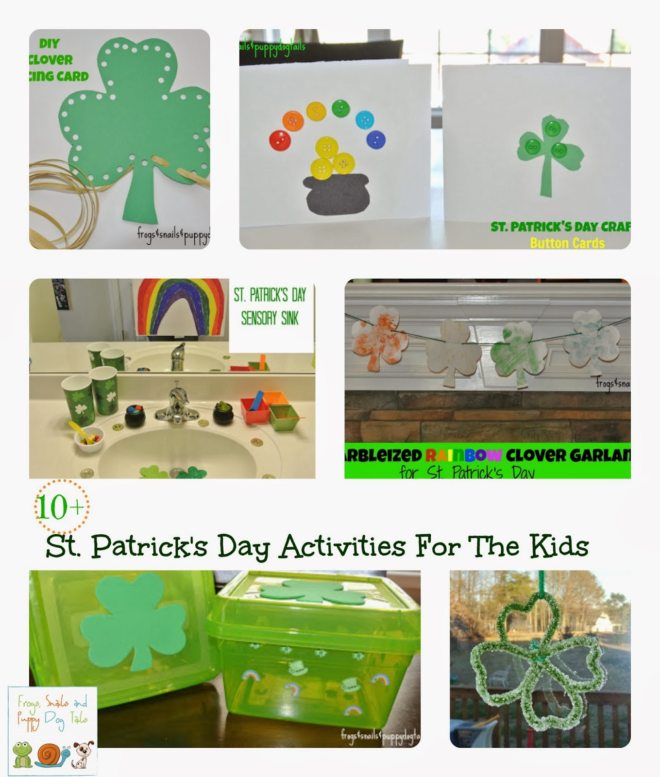 10 St Patrick S Day Themed Kids Activities We Enjoyed