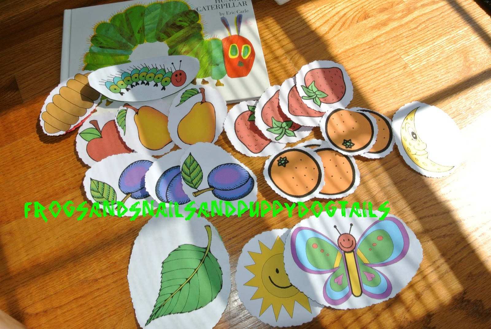 The Very Hungry Caterpillar Crafts And Activities