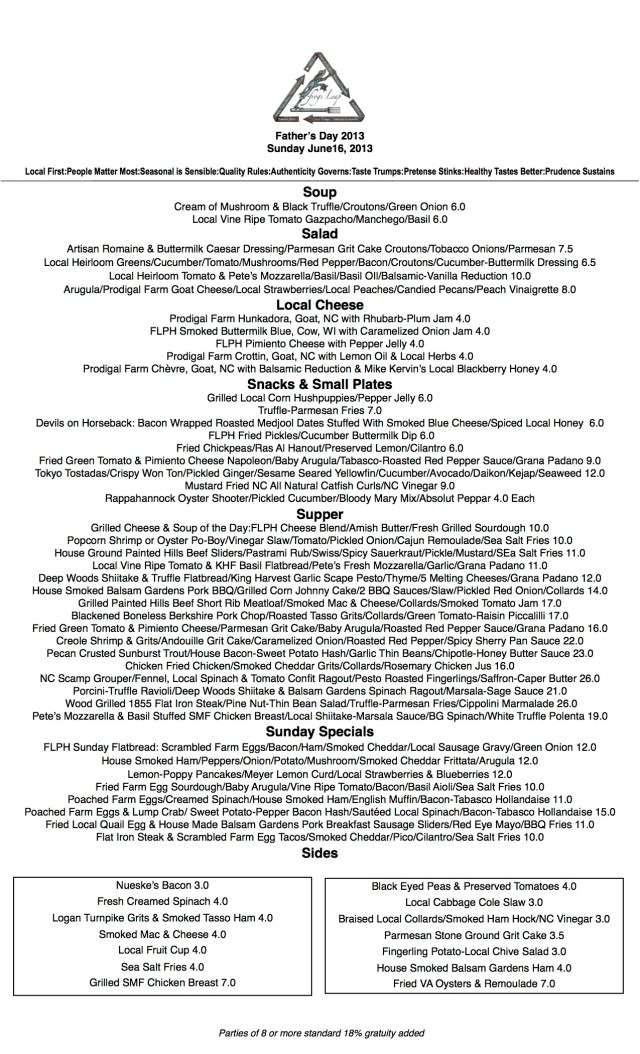 Sunday 6 16 Menu FD JPG