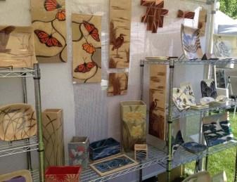 Booth display, Celebrate W. Hartford, 2014