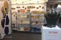 Booth display, Craft Vermont, 2014