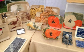Display at Norwich Farmer's Market
