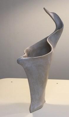 Sculptural vase, bird form