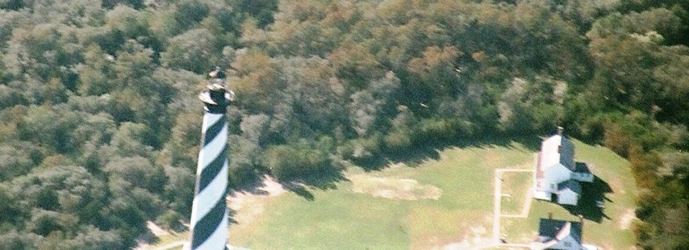 Cape Hatteras, NC Lighthouse Aerial Photos (1/4)