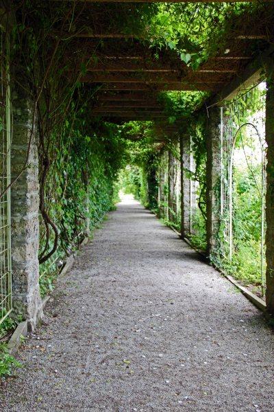 covered garden walkway Munich, Germany – Botanical Garden at Nymphenburg (Inside