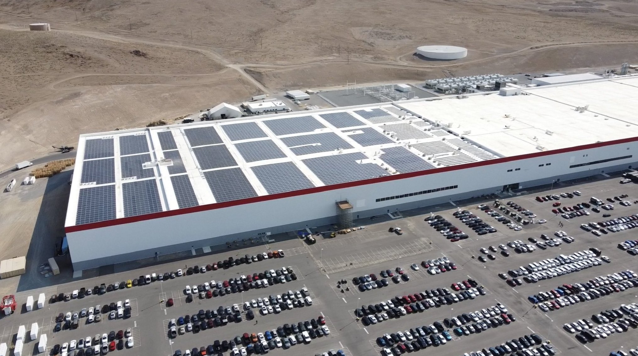 Gigafactory Nevada has been reduced in Size by Tesla