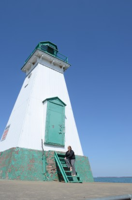 One of the Lake Ontario Light Houses