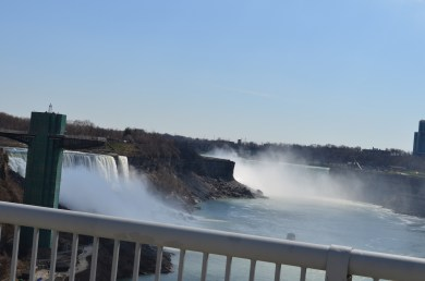 The View of Niagara Falls from Rainbow Bridge
