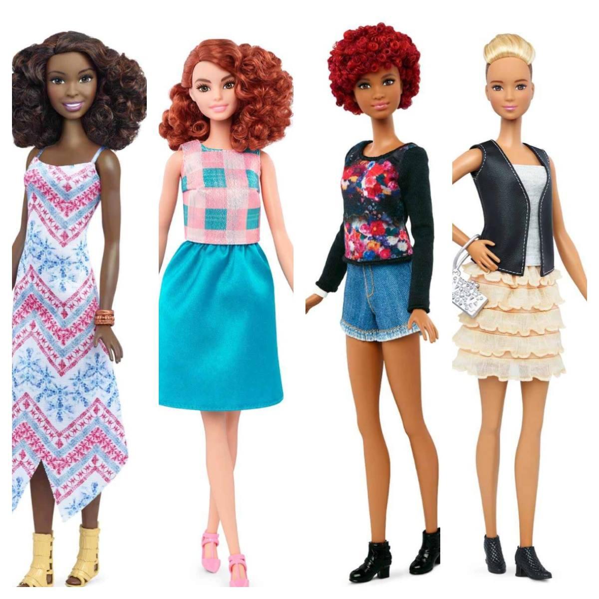 New Barbie Fashionista Dolls A Makeover For Barbie