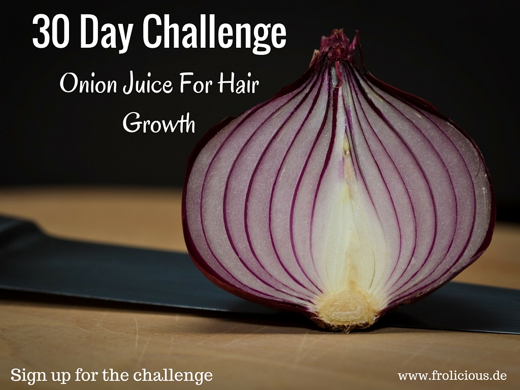 Onion Juice Increases Healthy Hair Growth