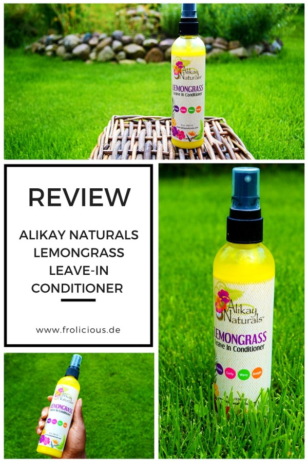 Alikay Naturals Lemongrass Leave-In Conditioner repairs dry damaged hair to promote moisture from the inside of the cuticle.