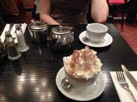 Fanciest hot chocolate of my life!