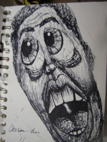 """Boo"" Sharpie 2012"