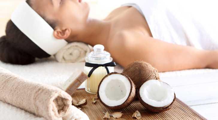 польза кокосового масла не только  , как крем ... :-)