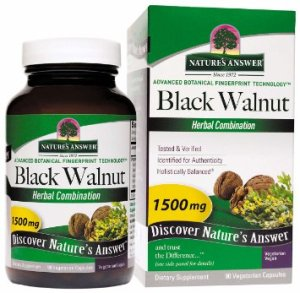 Black Walnut Capsules черный орех в капсулах от паразитов.