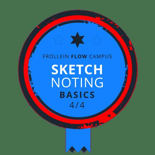 Sketchnoting Basics Badge 4/4