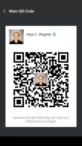 WeChat QR-Code Anja C. Wagner