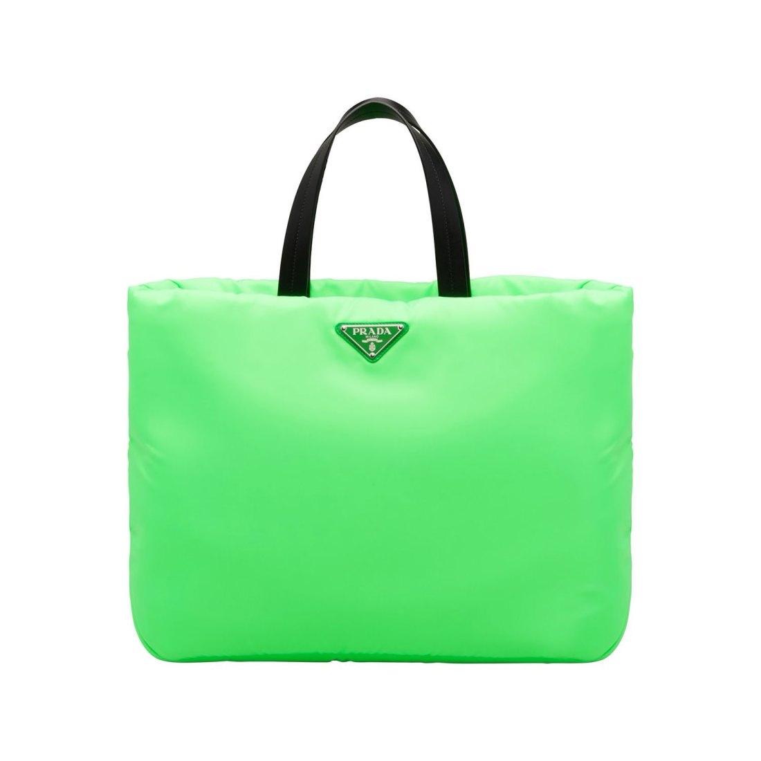 Neon and Neutrals: Tasche von Prada